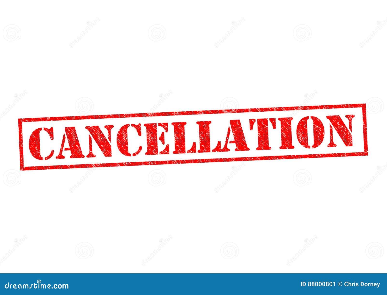 Cancelación