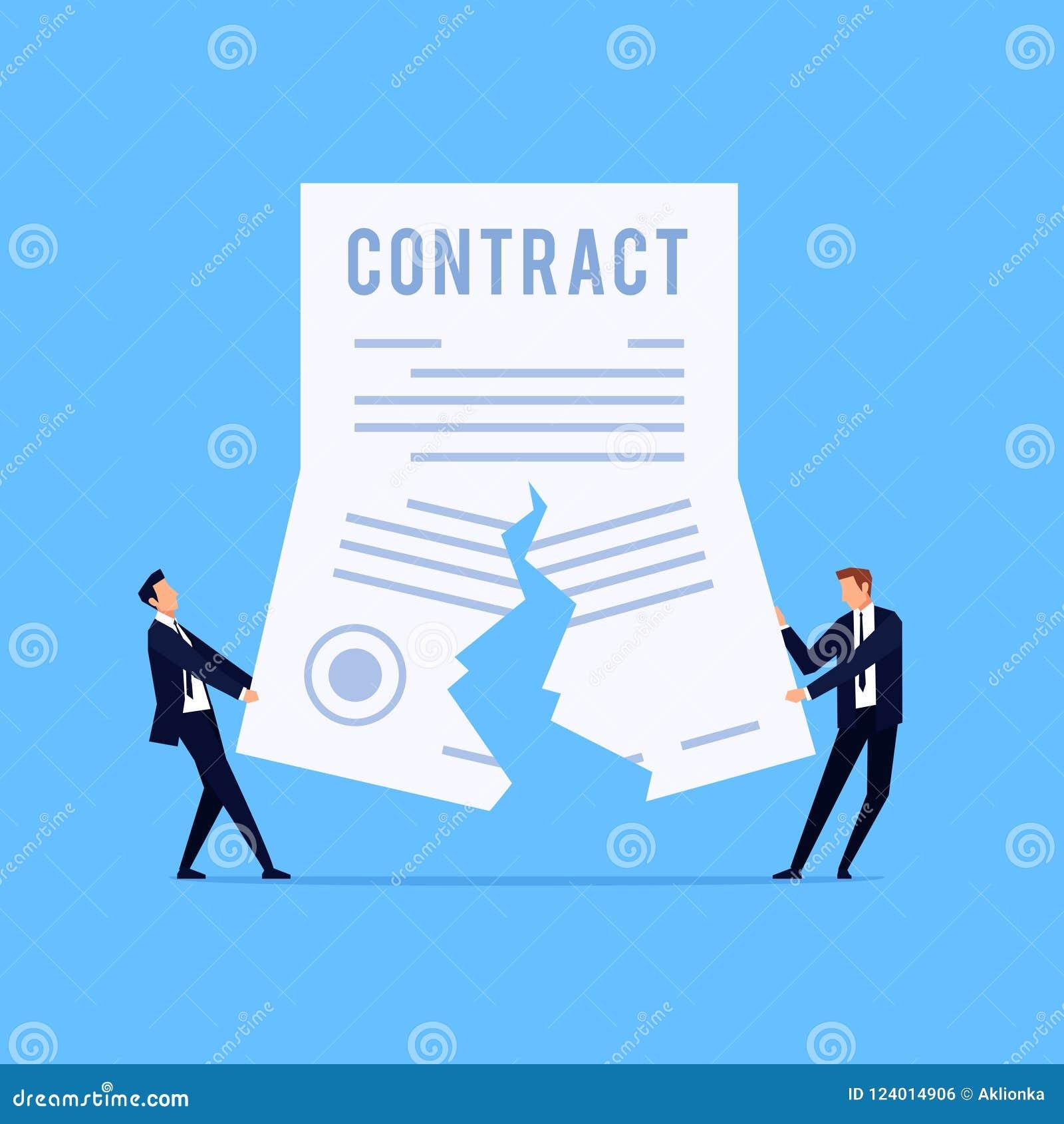 Cancelación de un contrato