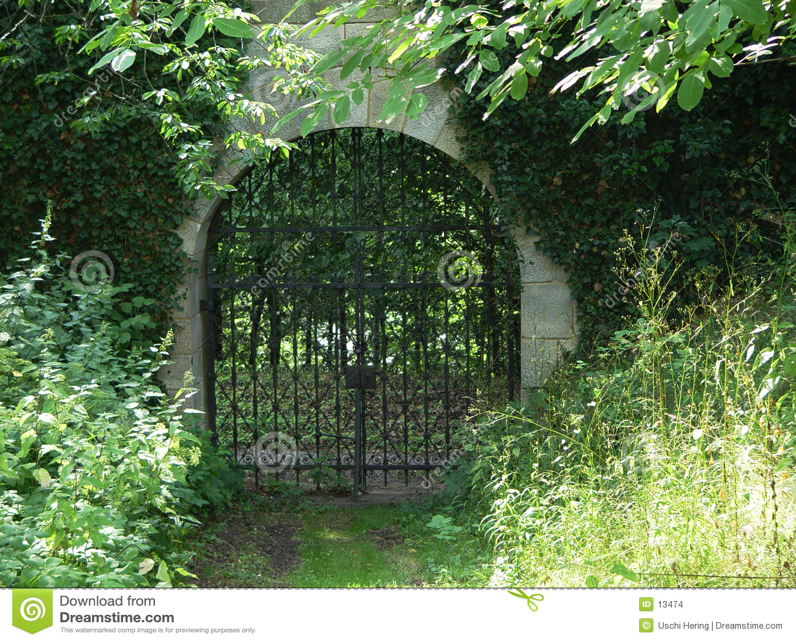 Cancello del monastero