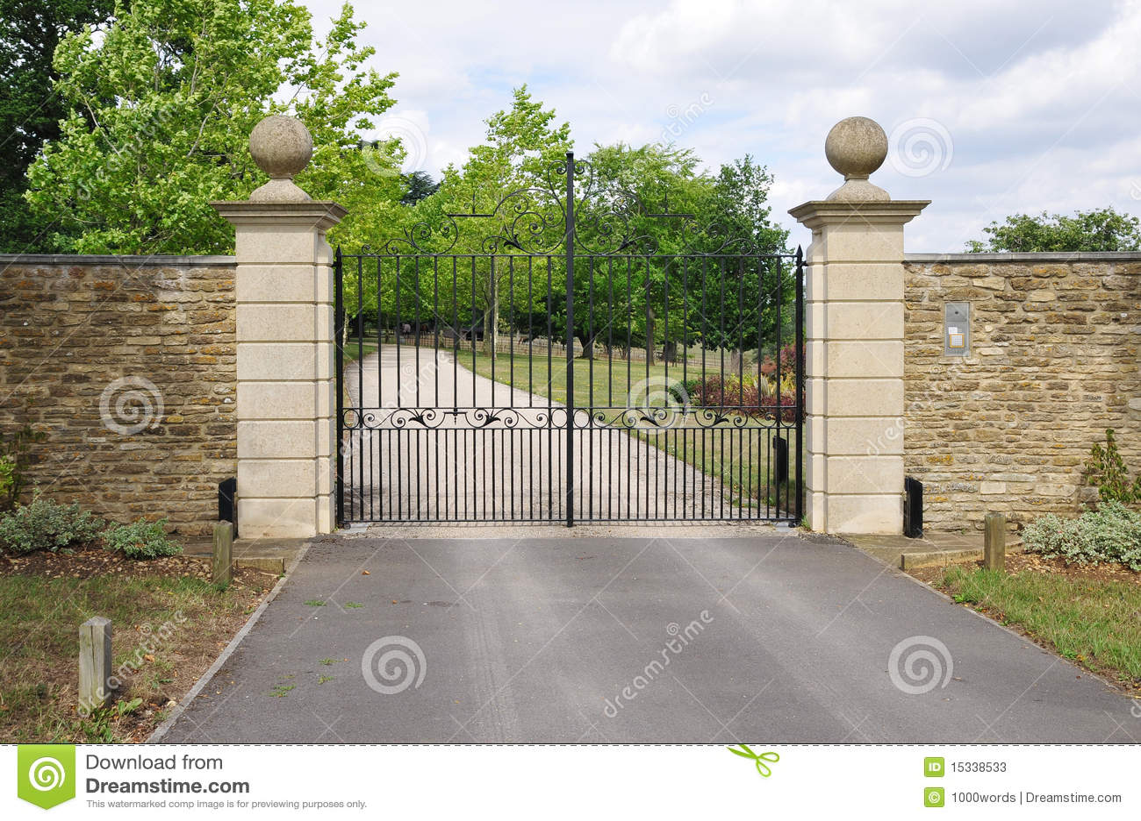 Cancello del palazzo