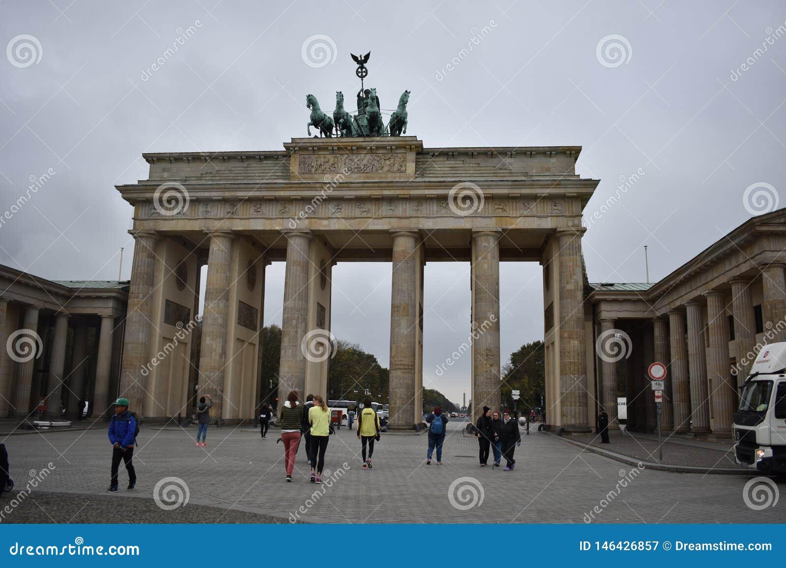 Cancello di Brandeburgo a Berlino