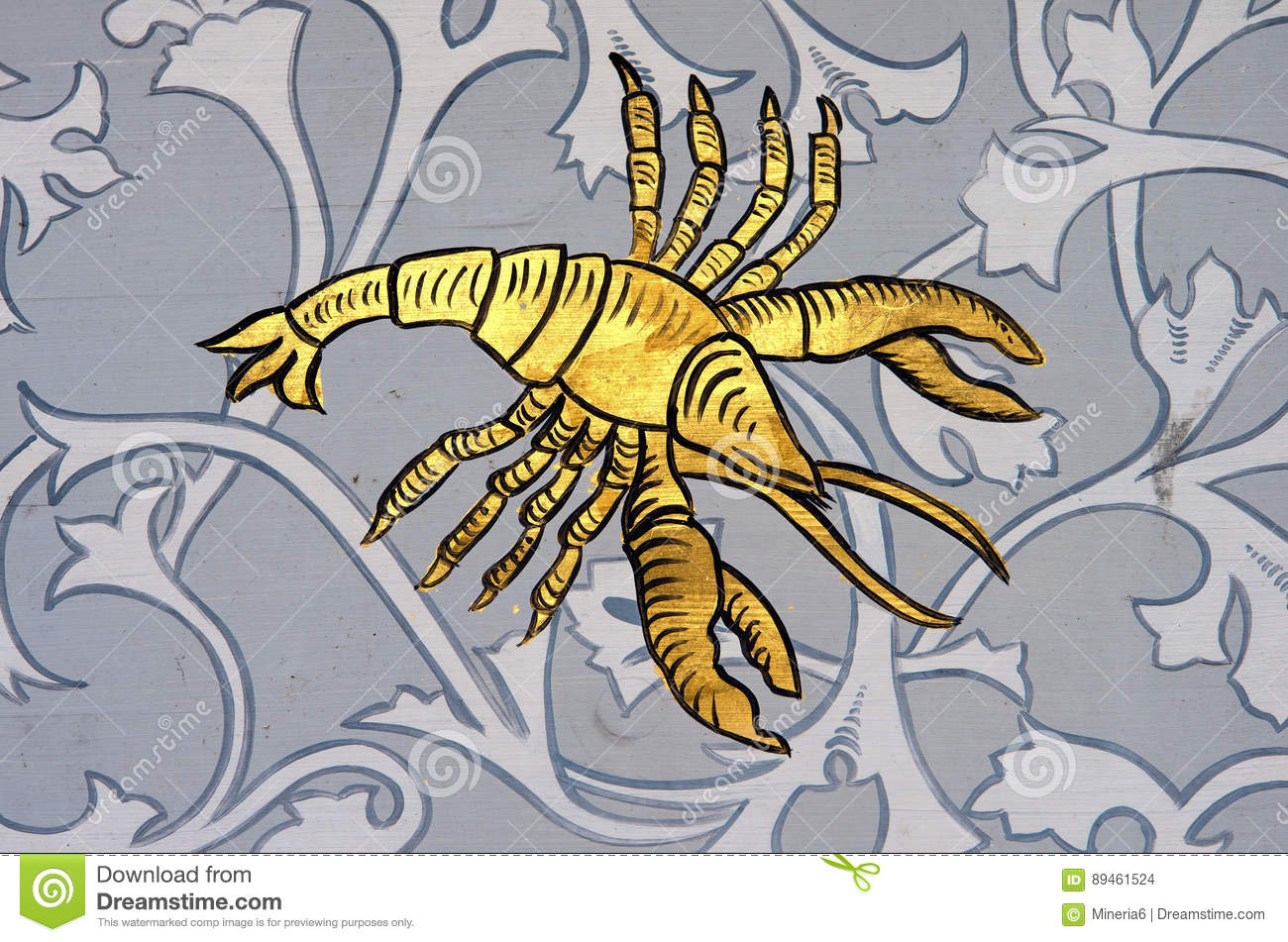 Cancer the crab zodiac sign