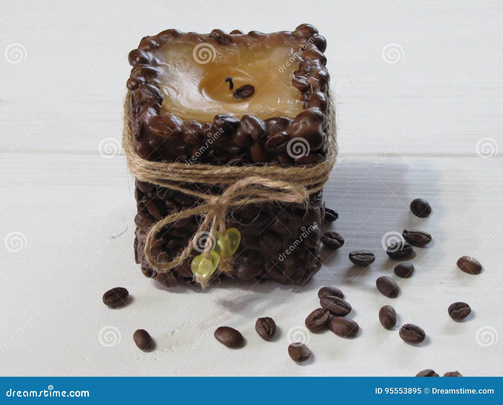 Candela del caffè fatta a mano