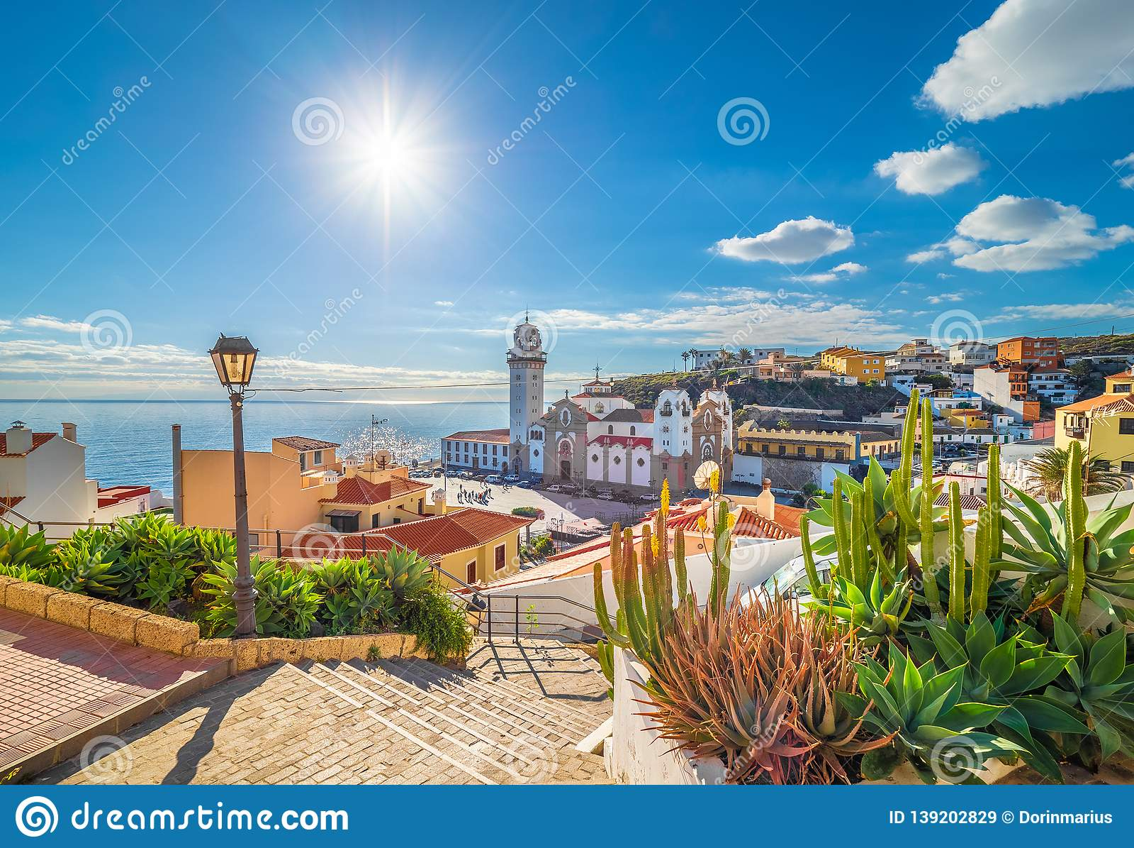 Candelaria town on Tenerife