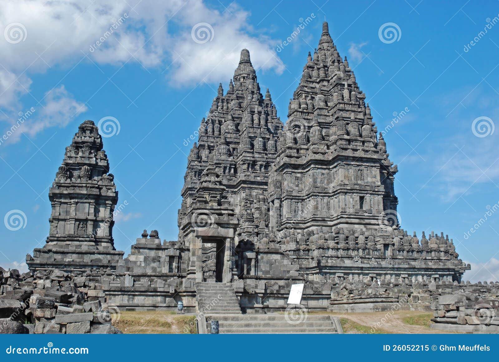 Candi Prambanan, индусский висок, Java, Индонесия