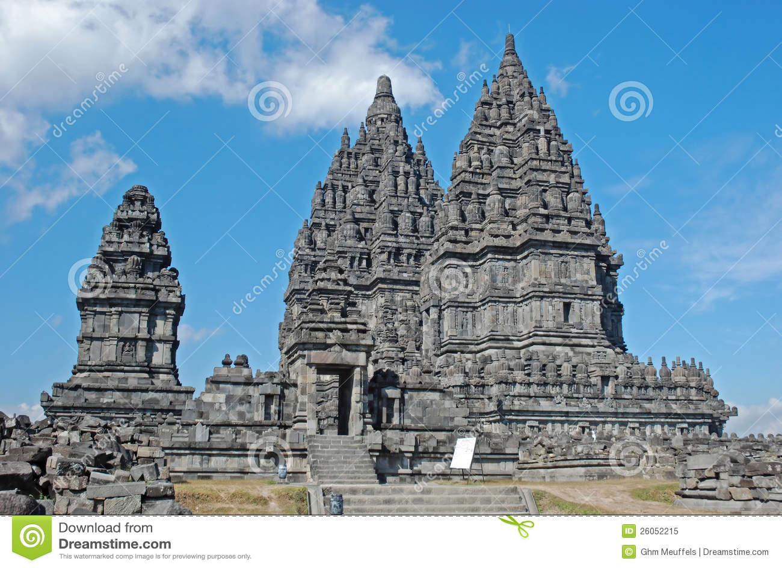 Candi Prambanan, templo hindú, Java, Indonesia