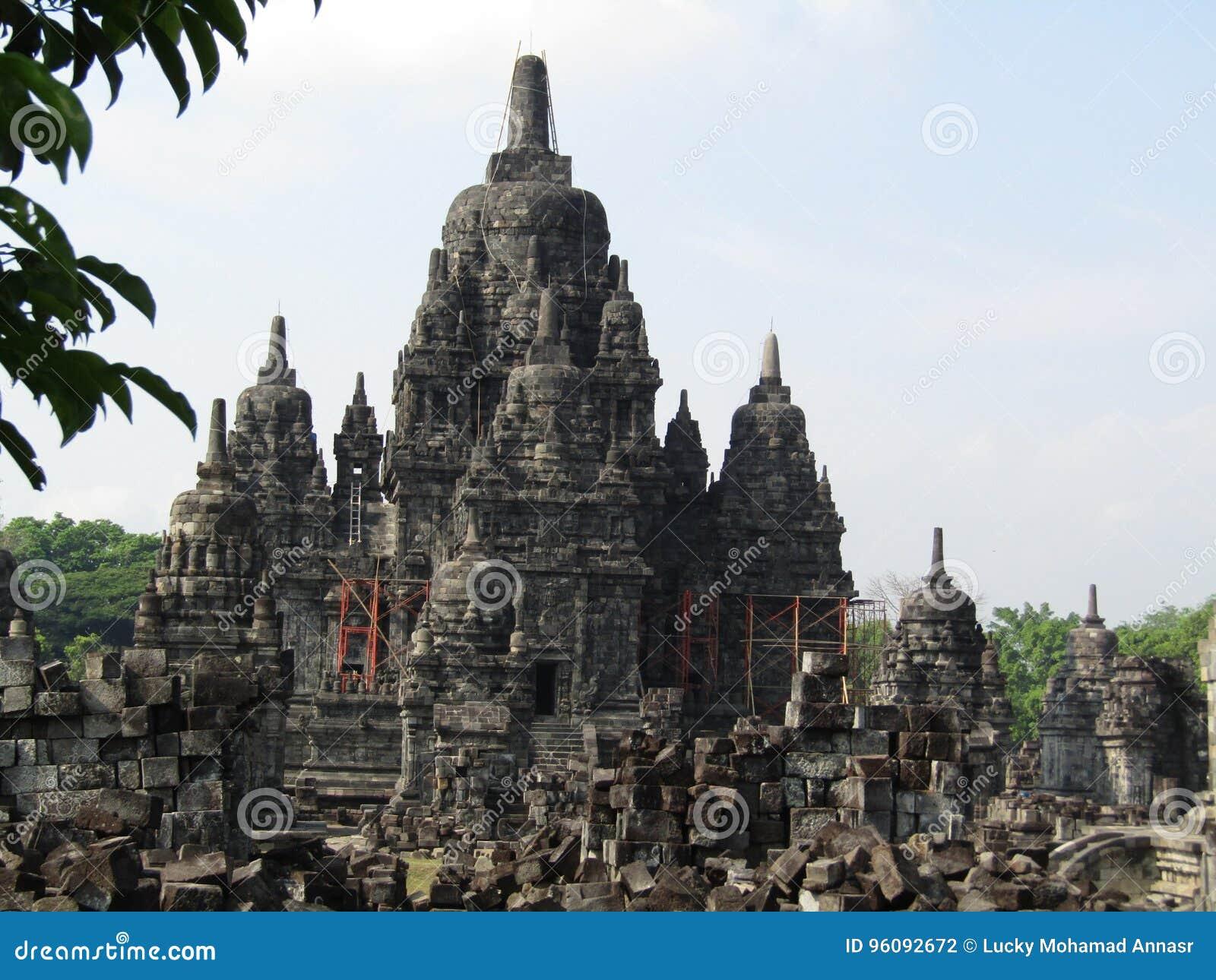 Candi Sewu & x28  Ναός Prambanan σύνθετος & x29