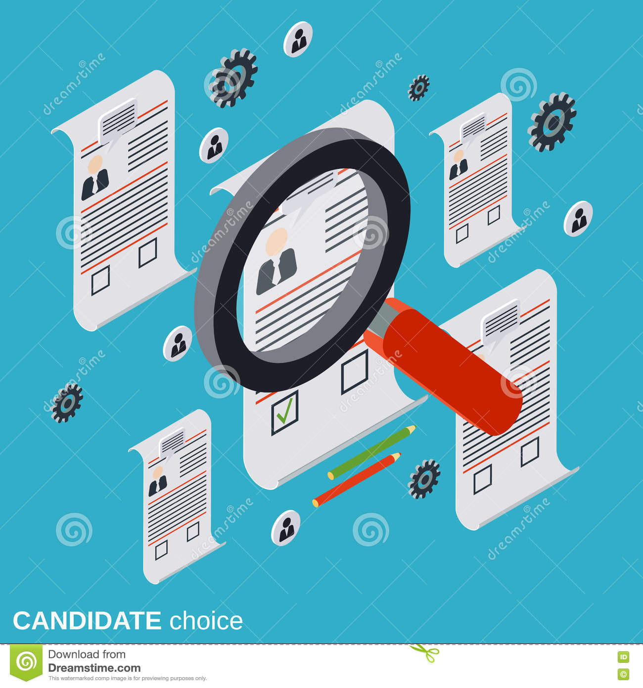 Resume Analysis Impressive Candidate Choice Resume Analysis Recruitment Human Resources