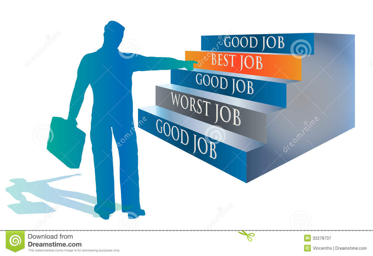 candidate selecting the best job illustration royalty stock candidate selecting the best job illustration