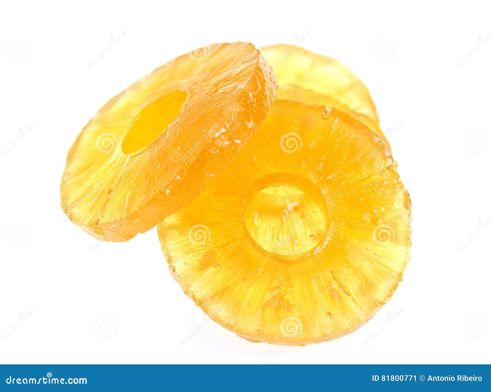 Candied кусок ананаса