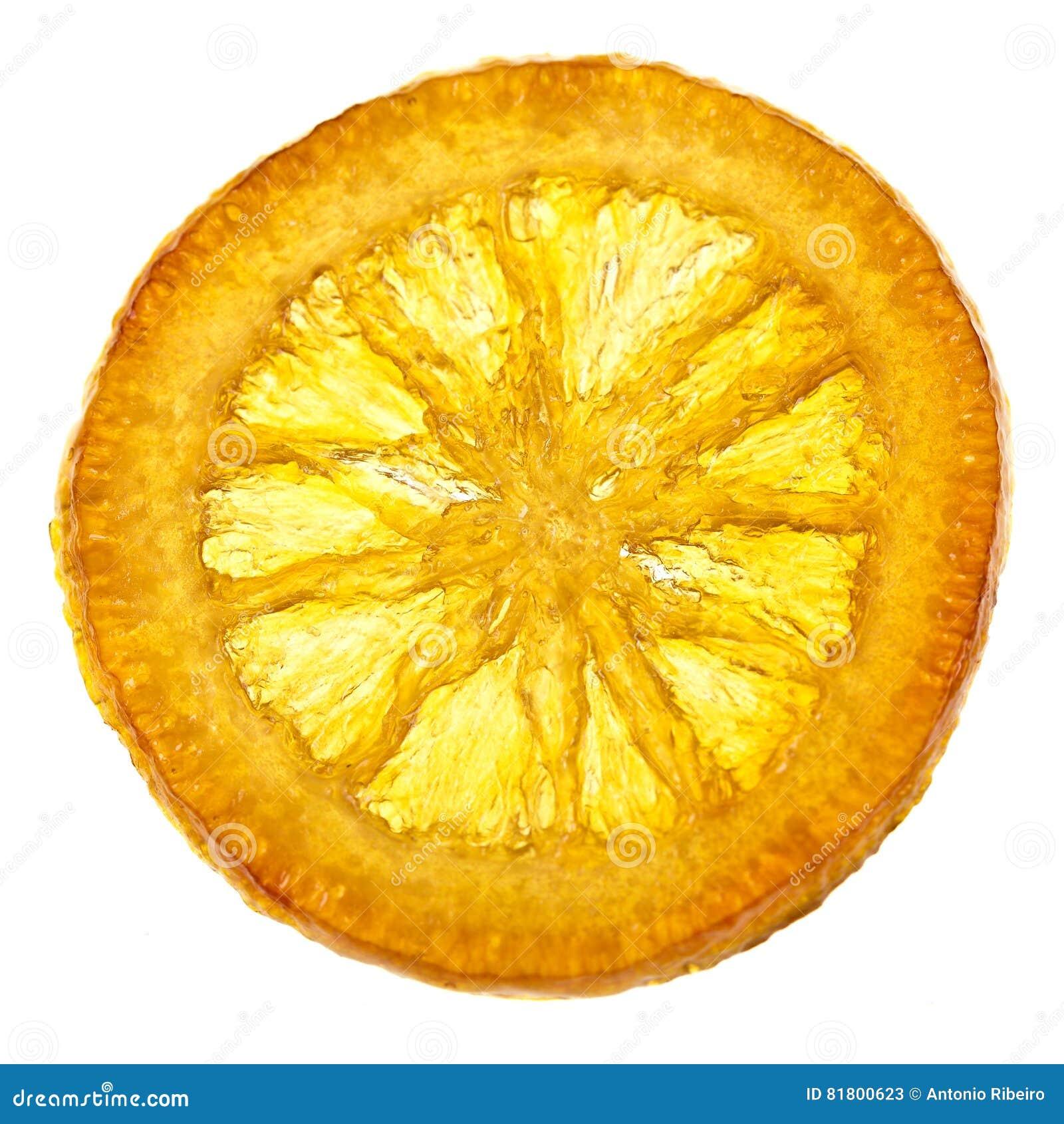 Candied оранжевый кусок
