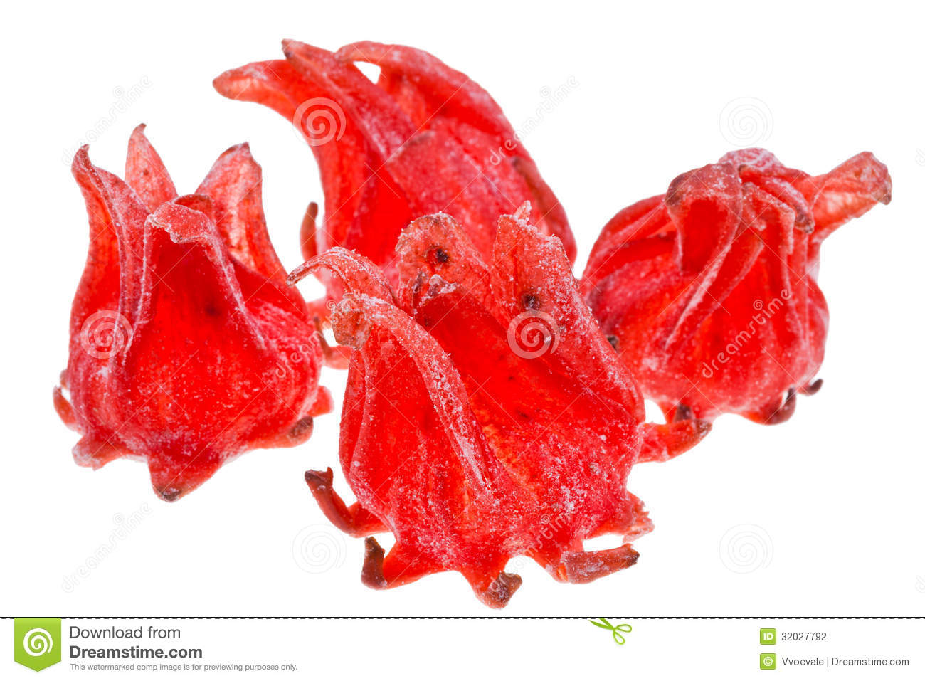 Candied Dried Hibiscus Stock Photo Image Of Fruit Hibiscus 32027792