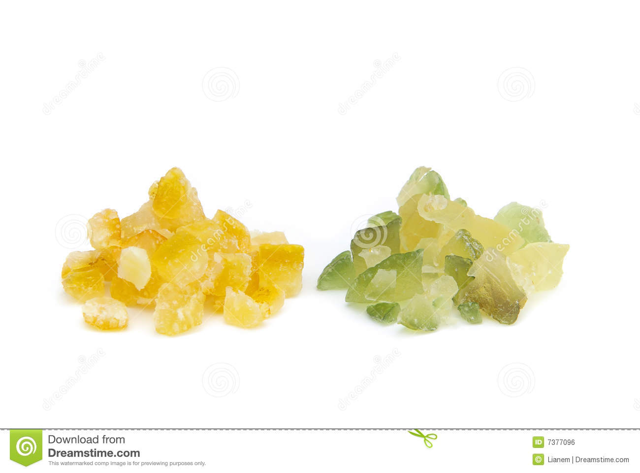 Candied Lemon Peel And Candied Orange Peel Royalty Free Stock Image ...