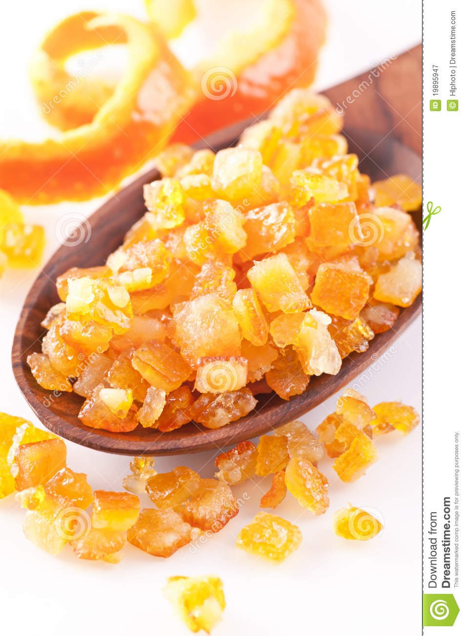 Candied Orange Peel Royalty Free Stock Photography - Image: 19895947
