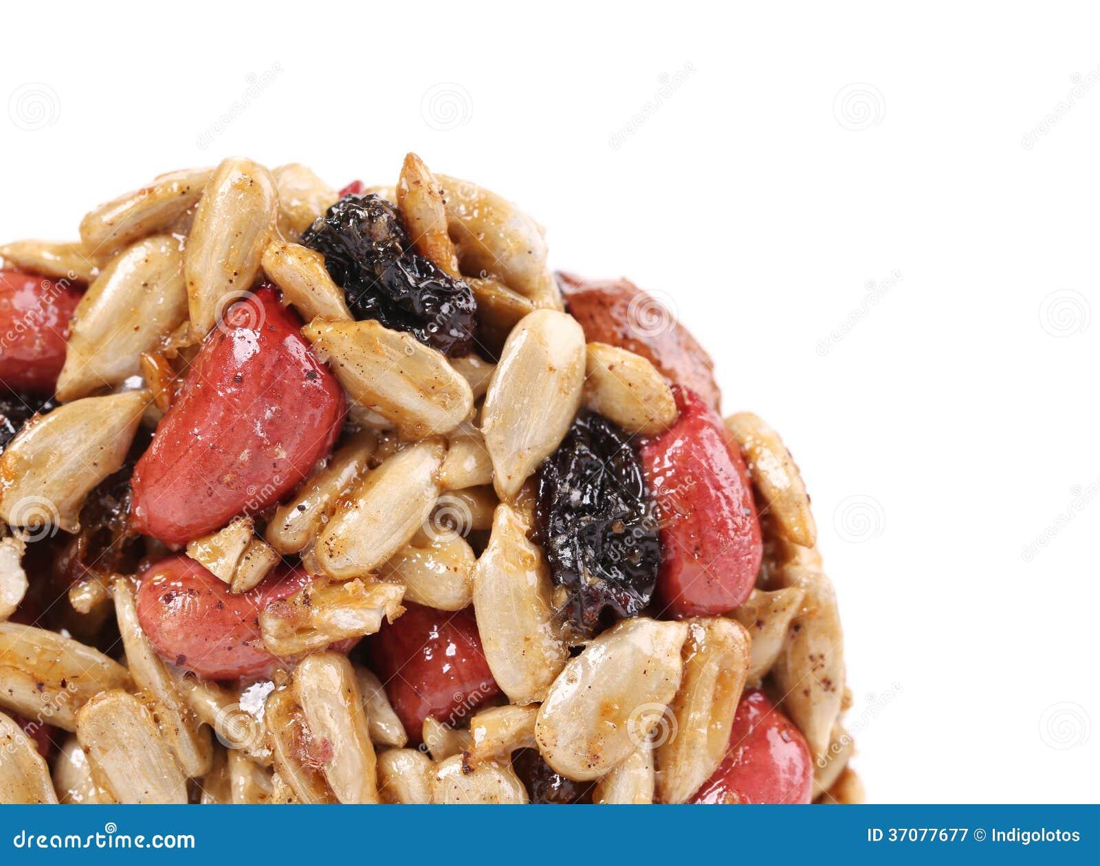 Download Candied Piec Arachidów Słonecznikowi Ziarna. Obraz Stock - Obraz złożonej z żywienie, gastronomy: 37077677