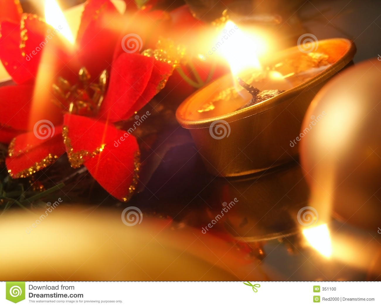 Download Candle stock photo. Image of onrnaments, orange, celebration - 351100