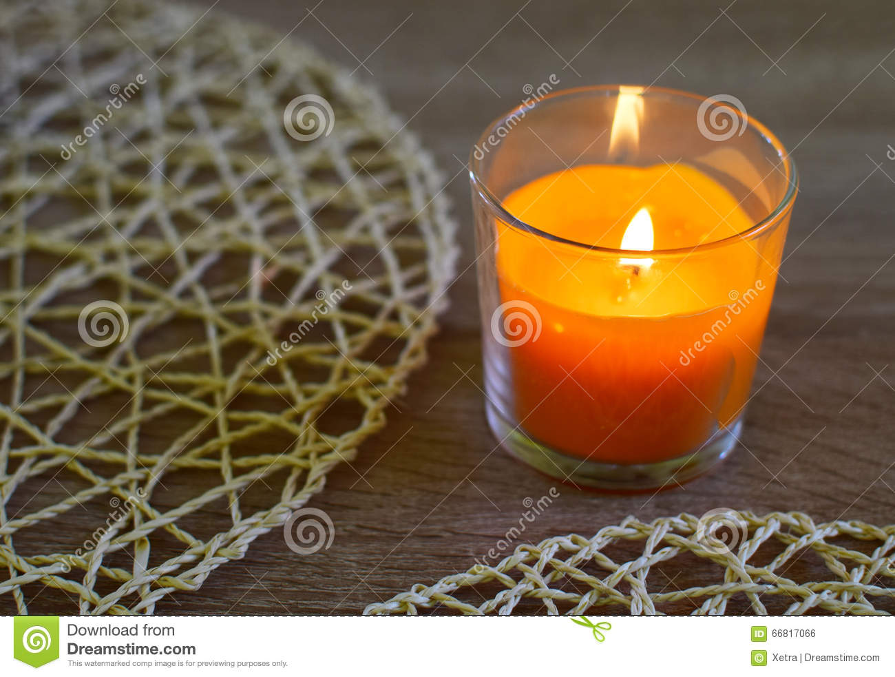 #CA3C01 Candle Decoration Stock Photo Image: 66817066 5283 decoration table noel orange 1300x983 px @ aertt.com