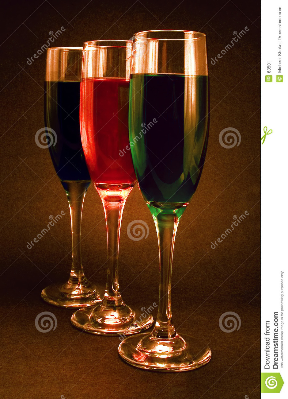 candle light and color in glass stock image image 68501