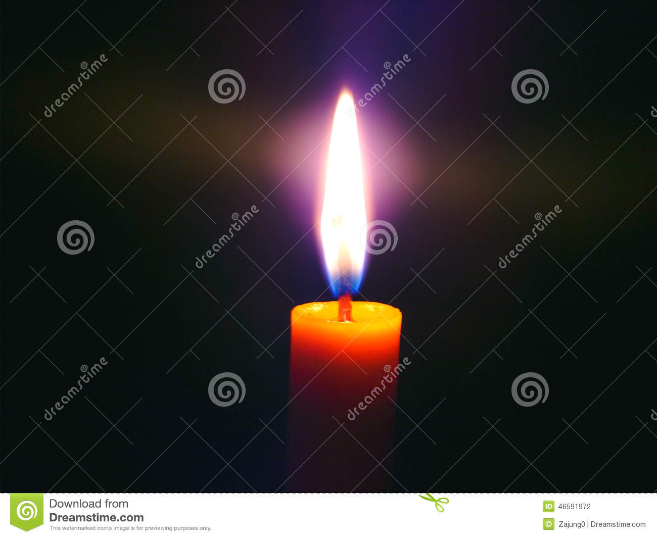 Download Candle , light in dark stock photo. Image of light, spectra - 46591972