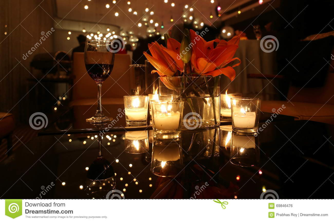 Candle Light Dinner Table Setting Part - 34: Royalty-Free Stock Photo. Download CANDLE LIGHT DINNER TABLE ...