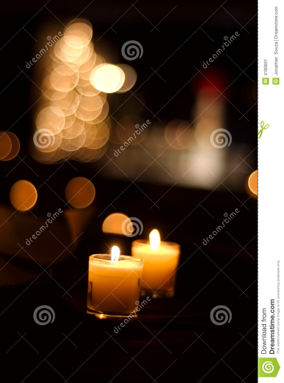 Candle light serenity