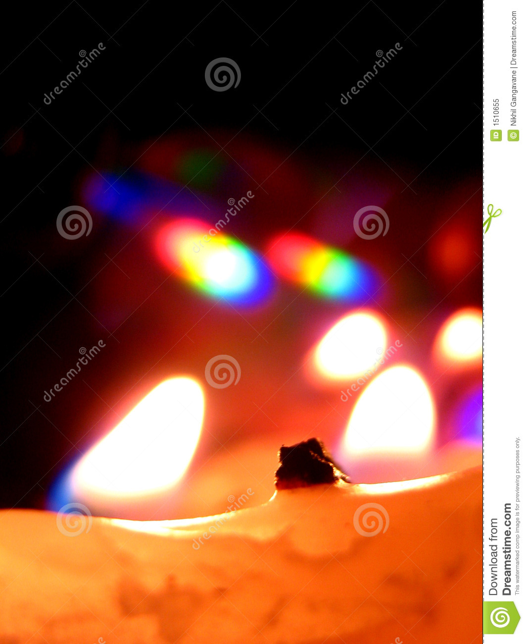 Candle Reflections