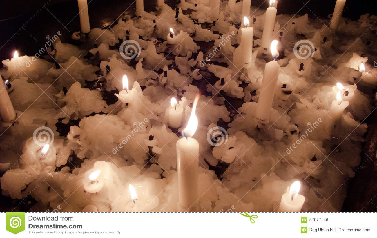 Candle Scenery Stock Photo Image Of Paraffine Year 57077146
