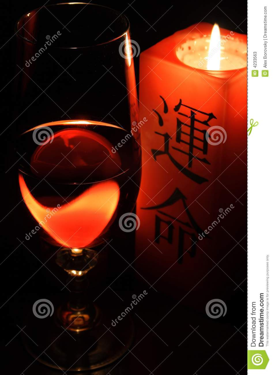 Candle and Vino