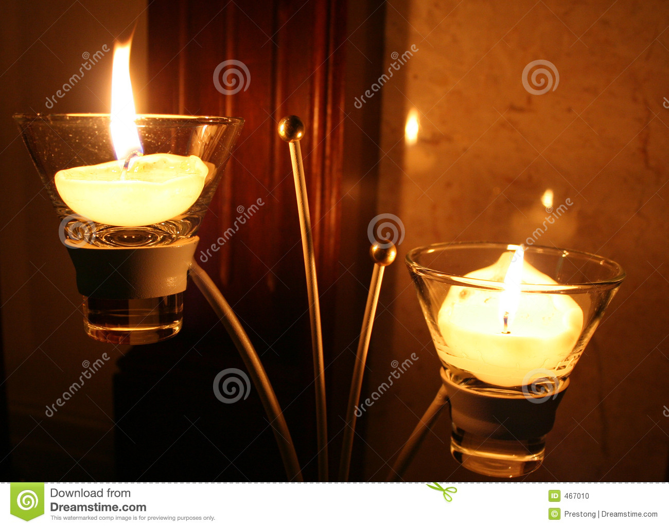 Download Candles and Candlestick. stock photo. Image of light, relax - 467010