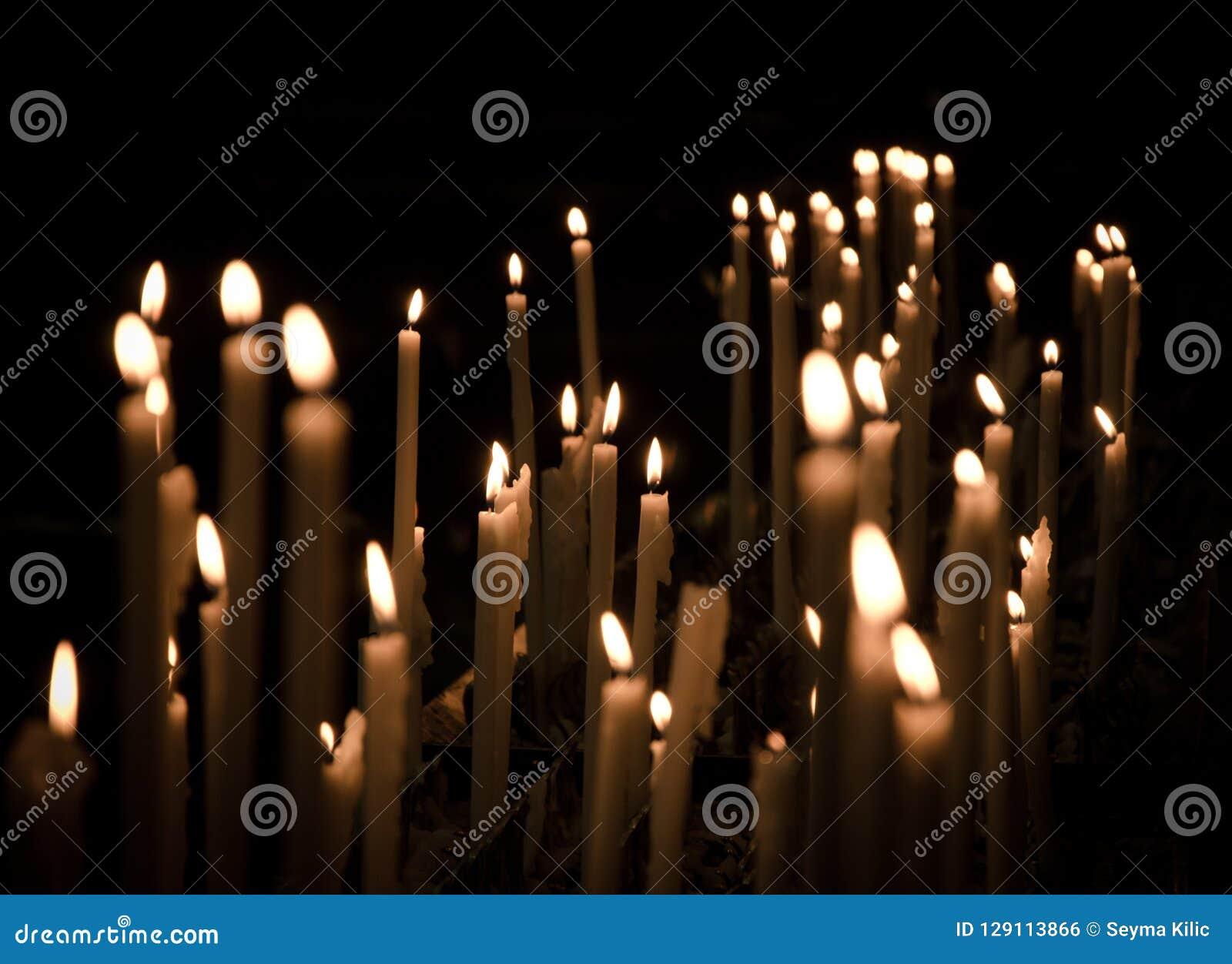 Candles in Duomo di Milano