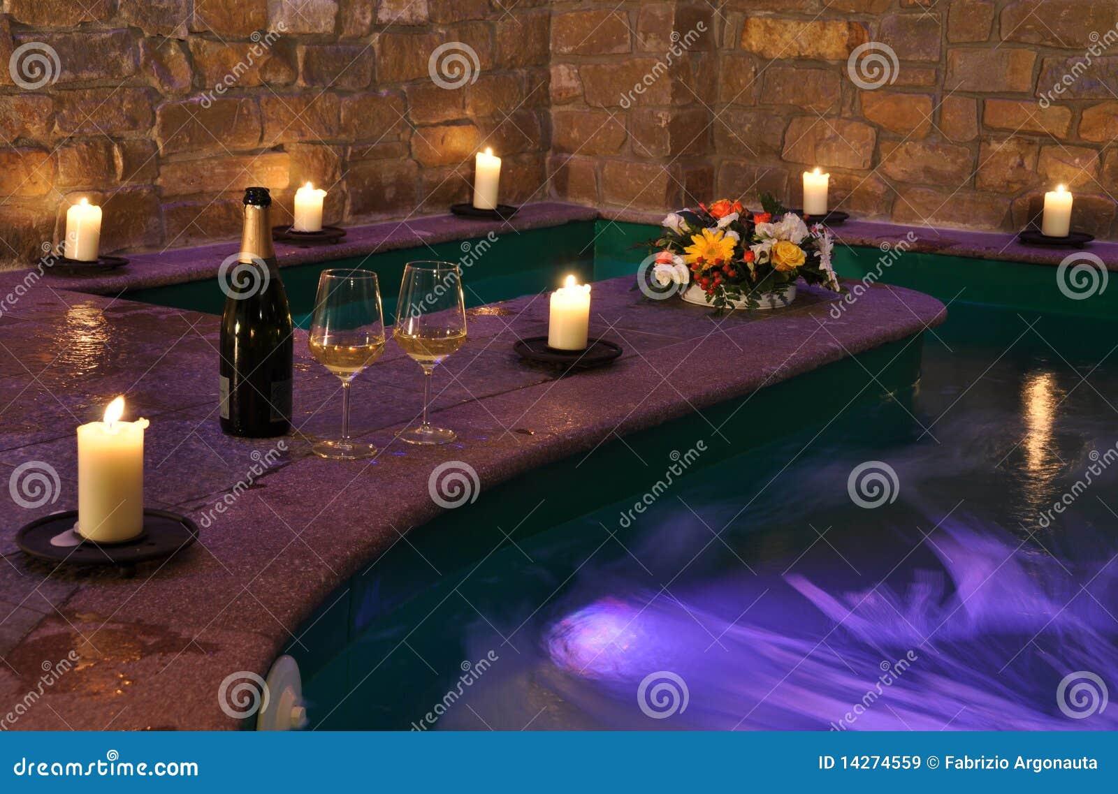 Candles spa κρασί