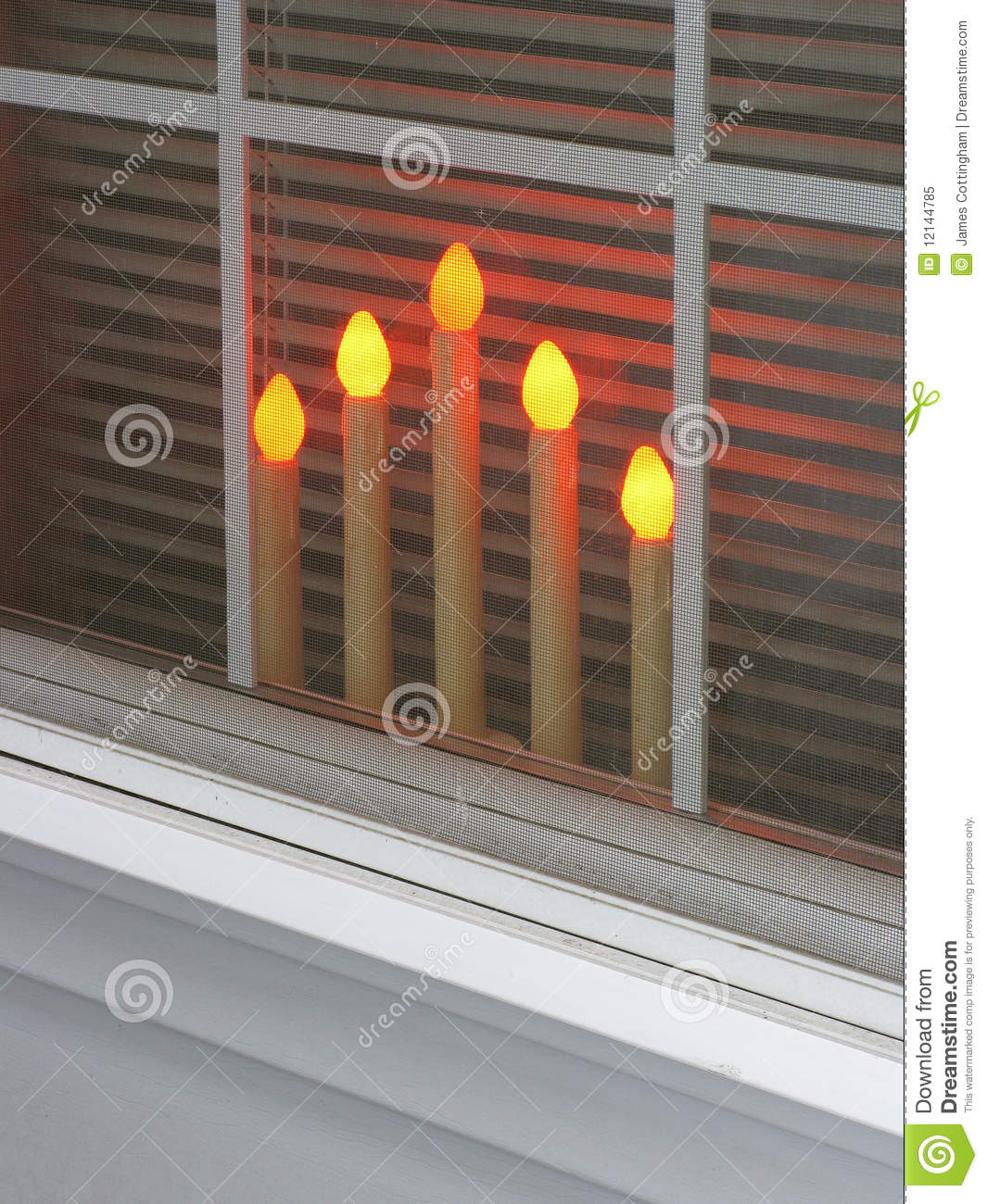 download candles in the window stock image image of inviting 12144785 - Christmas Candles For Windows