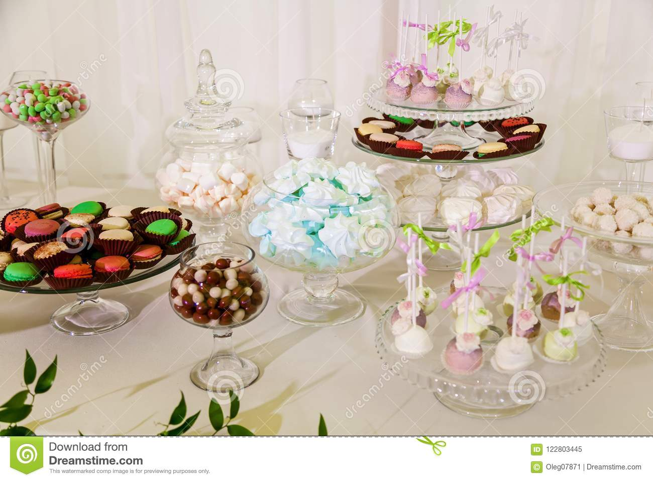 Strange Sweet Table At The Wedding Celebration Stock Image Image Download Free Architecture Designs Embacsunscenecom