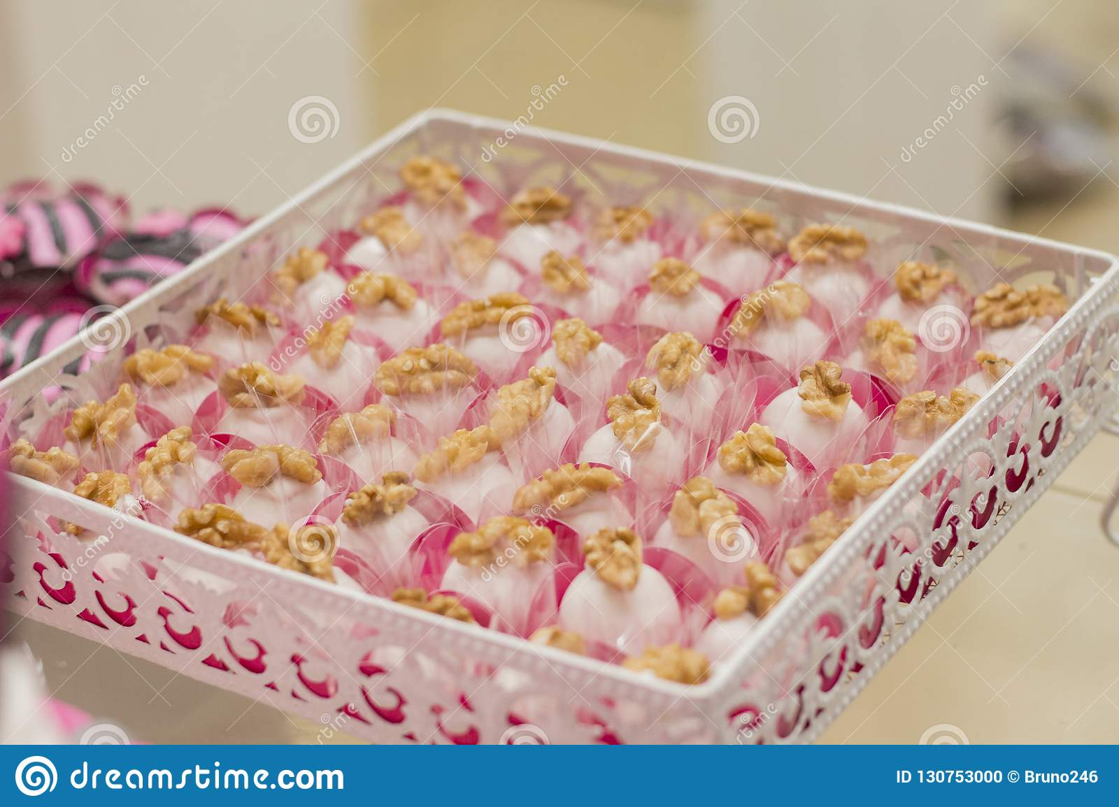 Wondrous Candy And Birthday Cake Stock Photo Image Of Marriage 130753000 Personalised Birthday Cards Paralily Jamesorg