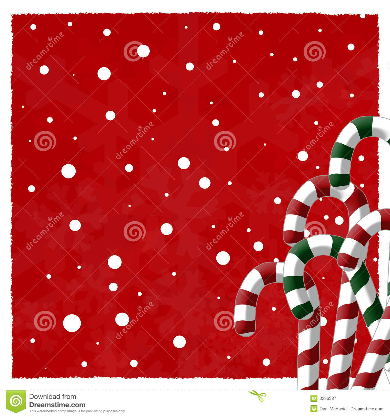 Candy Cane Background Royalty Free Stock Photography - Image: 3286387