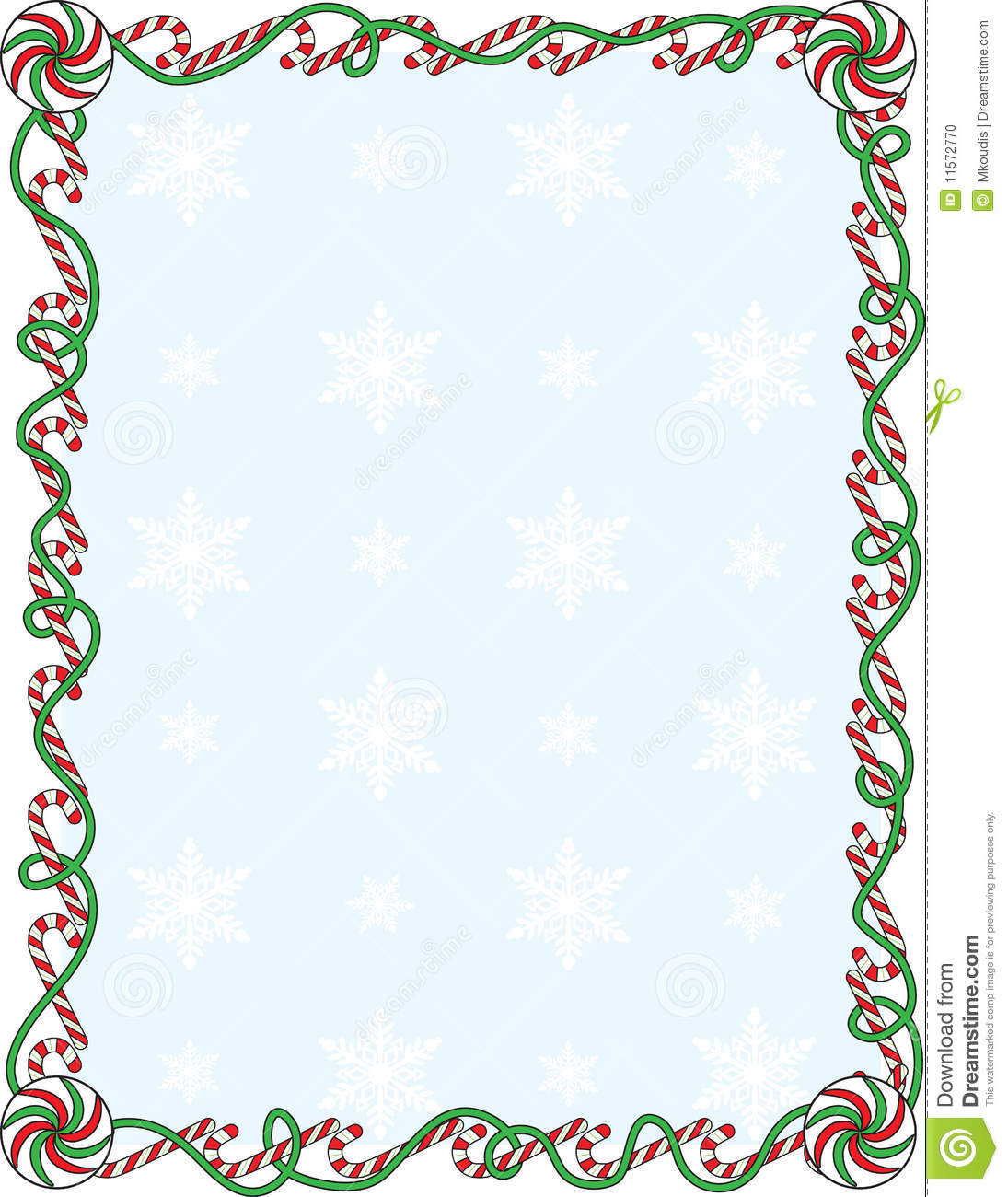candy cane border stock vector illustration of holiday Candy Cane Clip Art Peppermint Candy Clip Art Black and White