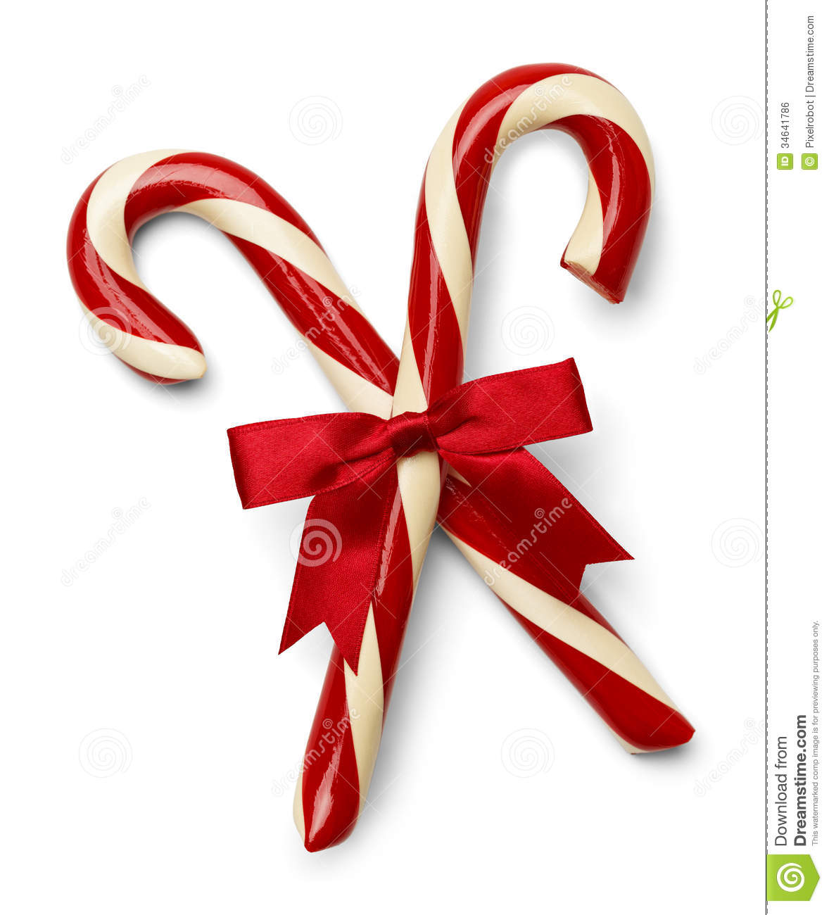 Candy Cane Cross stock photo Image of single decoration 34641786