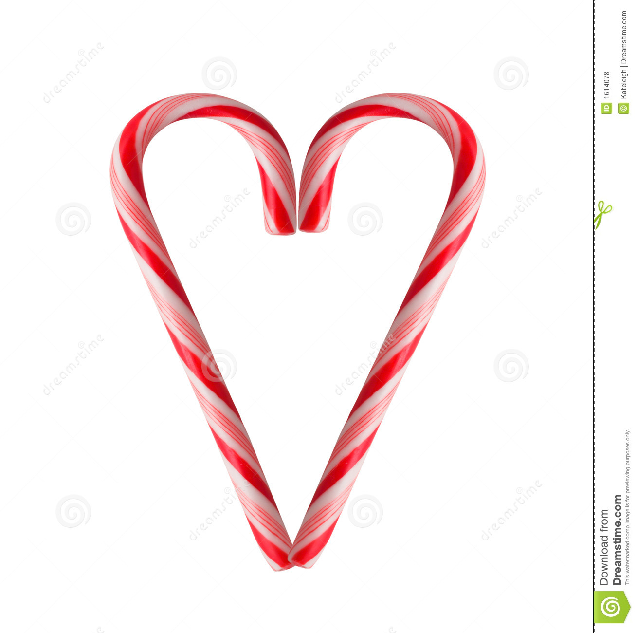 Candy cane heart royalty free stock photos image