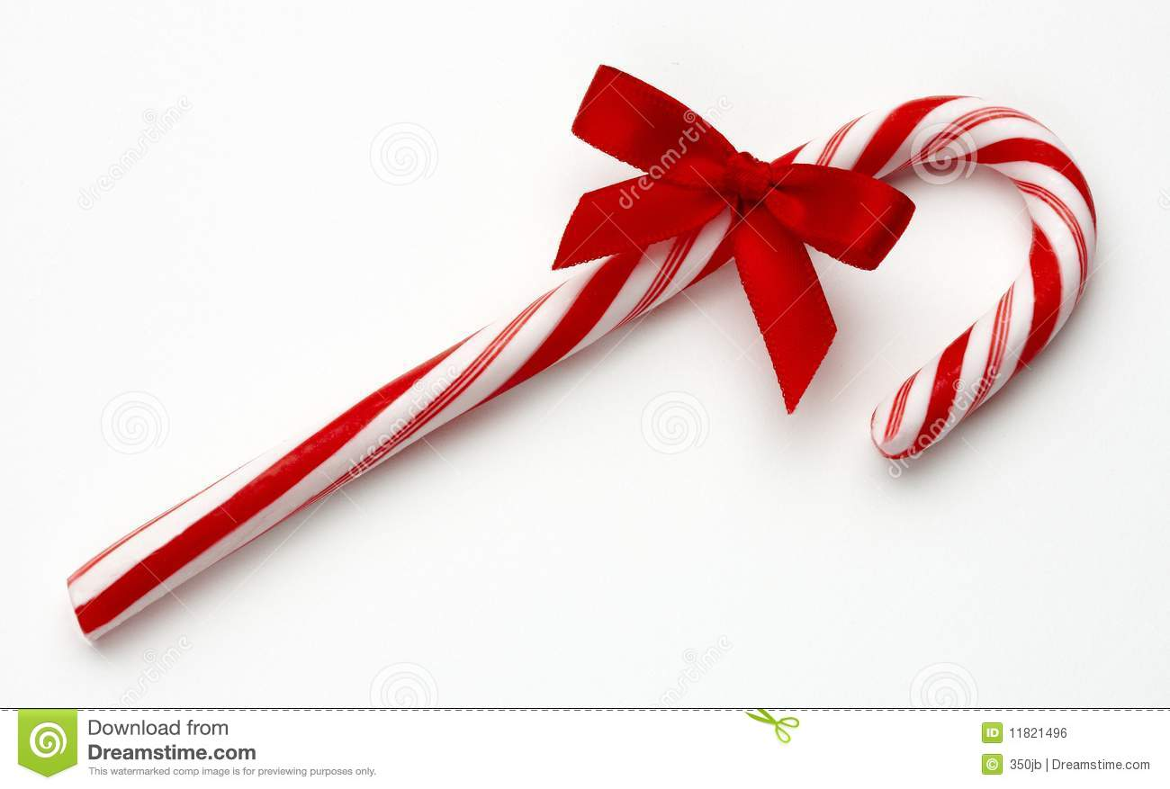 Candy cane red bow 11821496 jpg