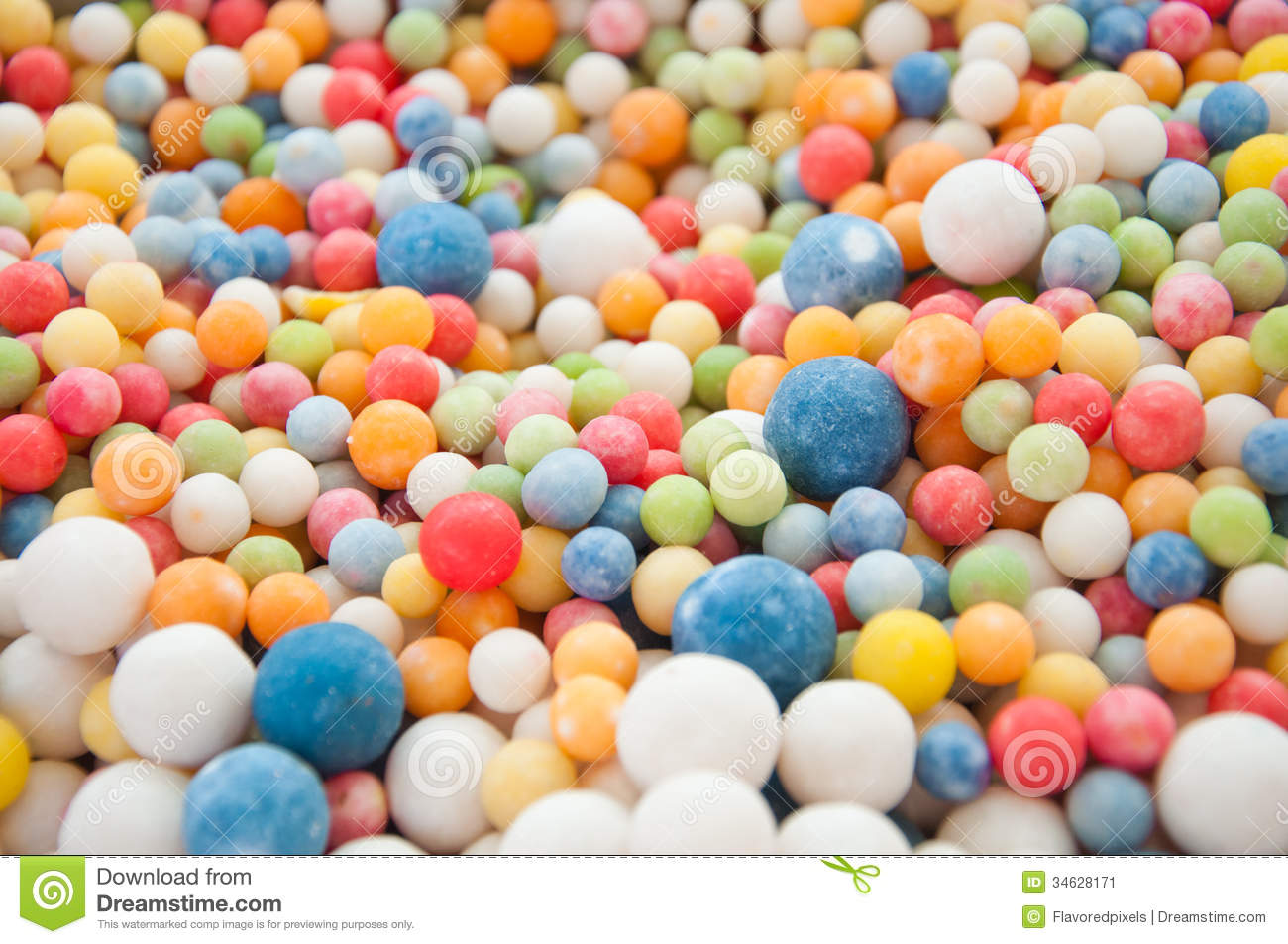 Candy Colorful Kids Candies Stock Image Image 34628171
