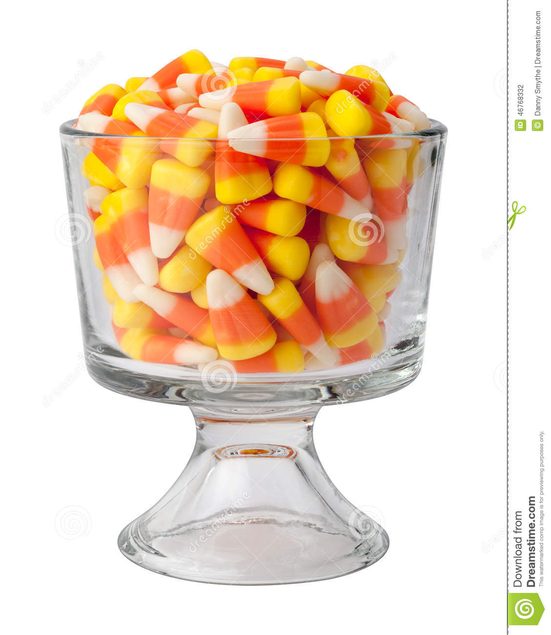 Candy Corn in a Dessert Glass  sc 1 st  Dreamstime.com & Candy Corn In A Dessert Glass Stock Photo - Image of ingredient ...