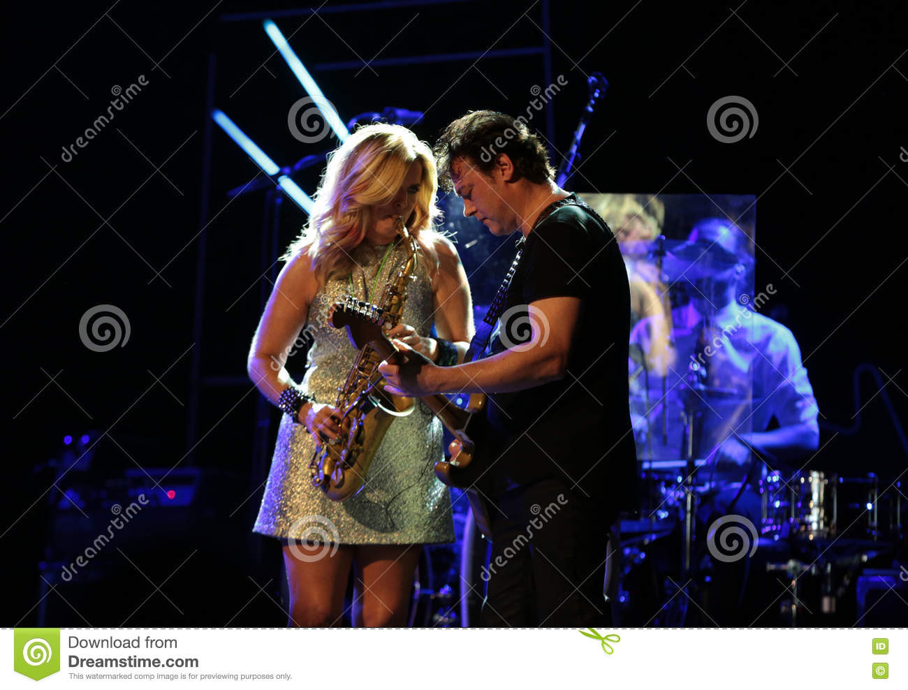 Candy Dulfer editorial stock photo  Image of festival - 79967948