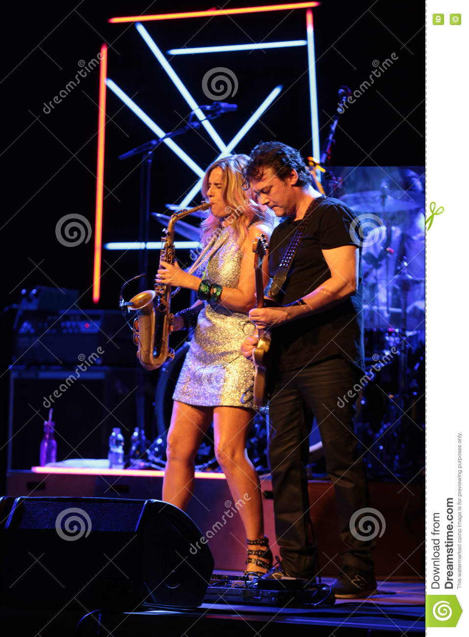 Candy Dulfer editorial stock photo  Image of funk, artist - 79972373