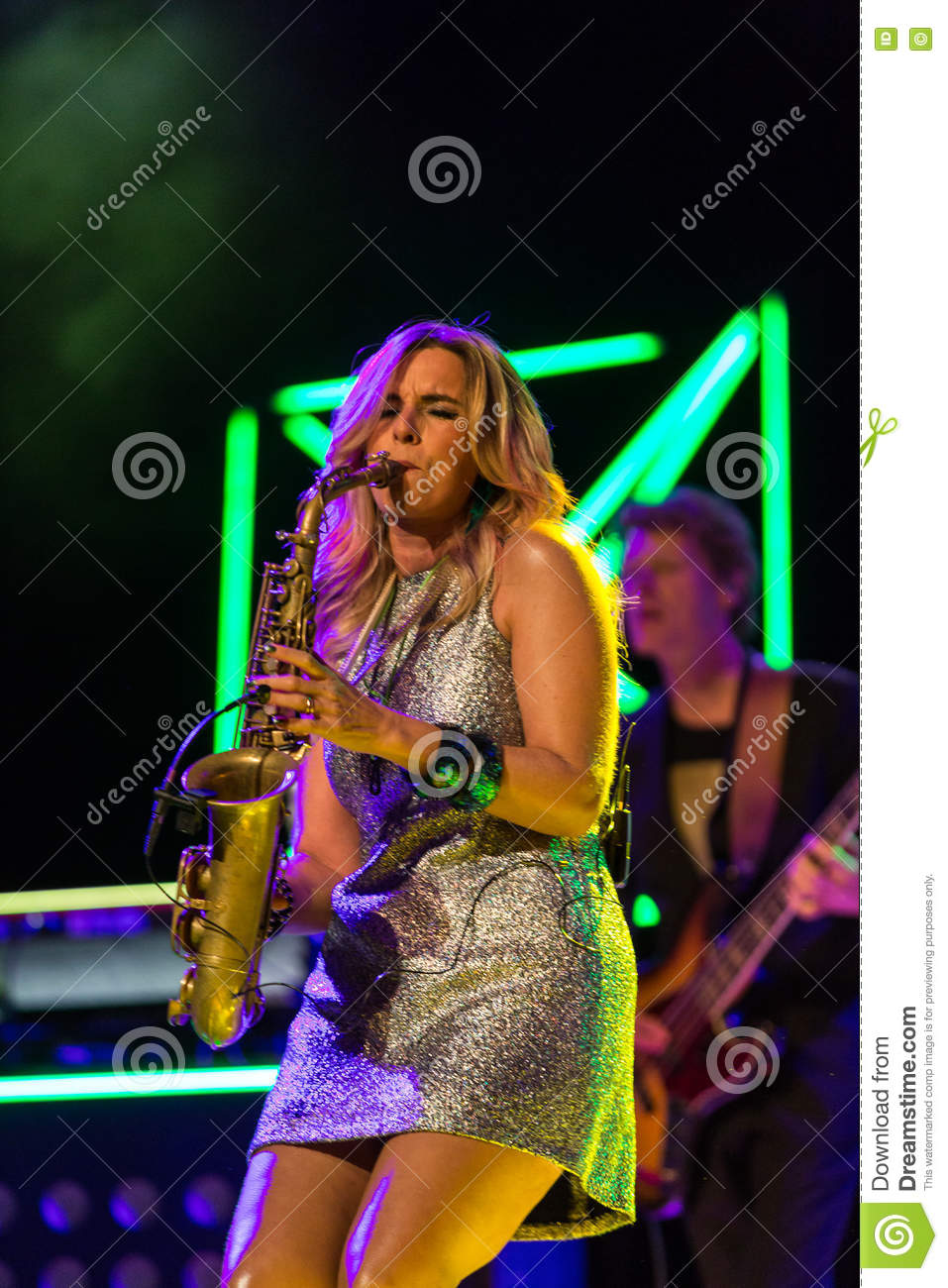 Candy Dulfer editorial image  Image of fusion, modern - 79972605