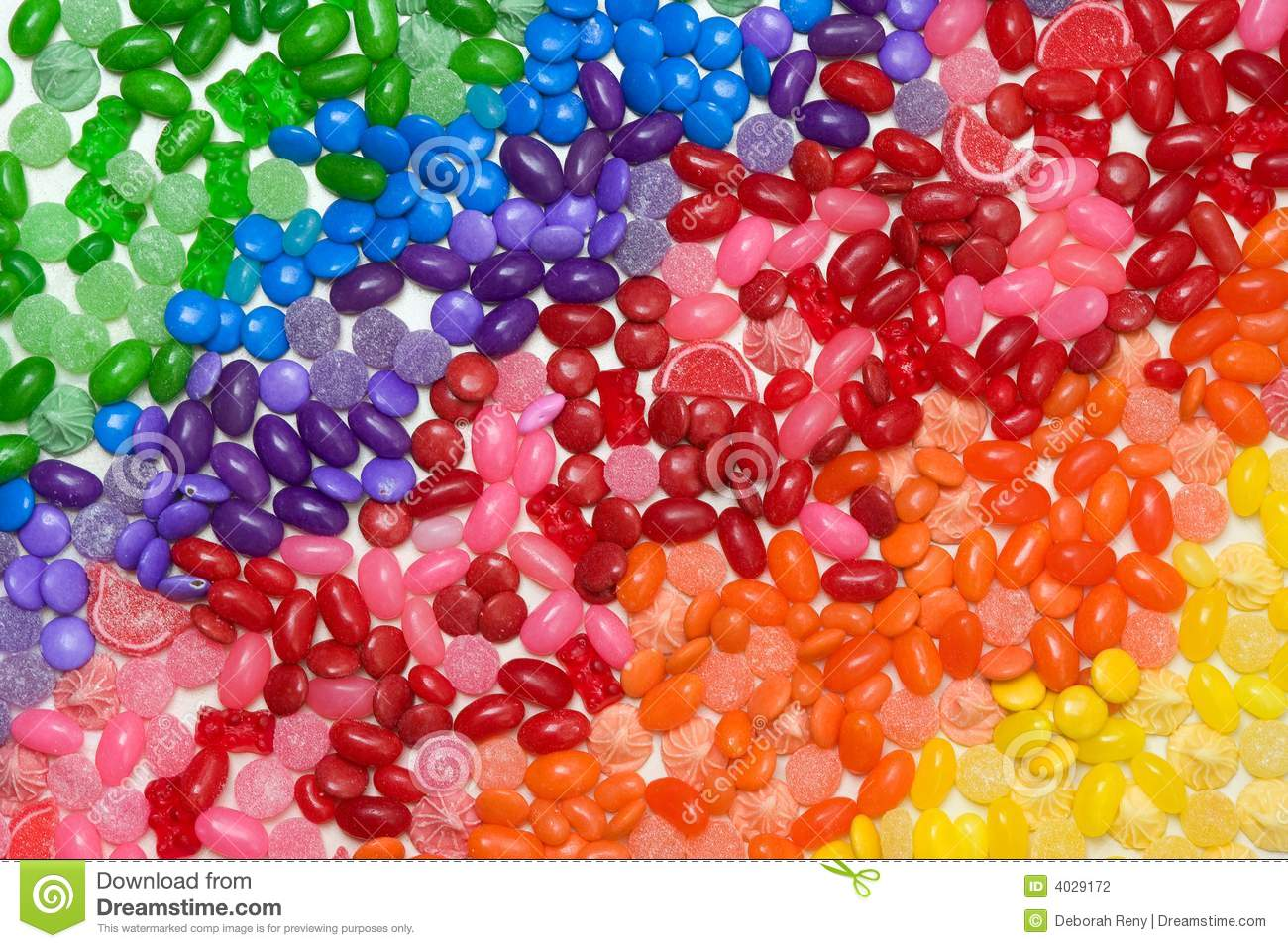 Rainbow Candy Wallpaper