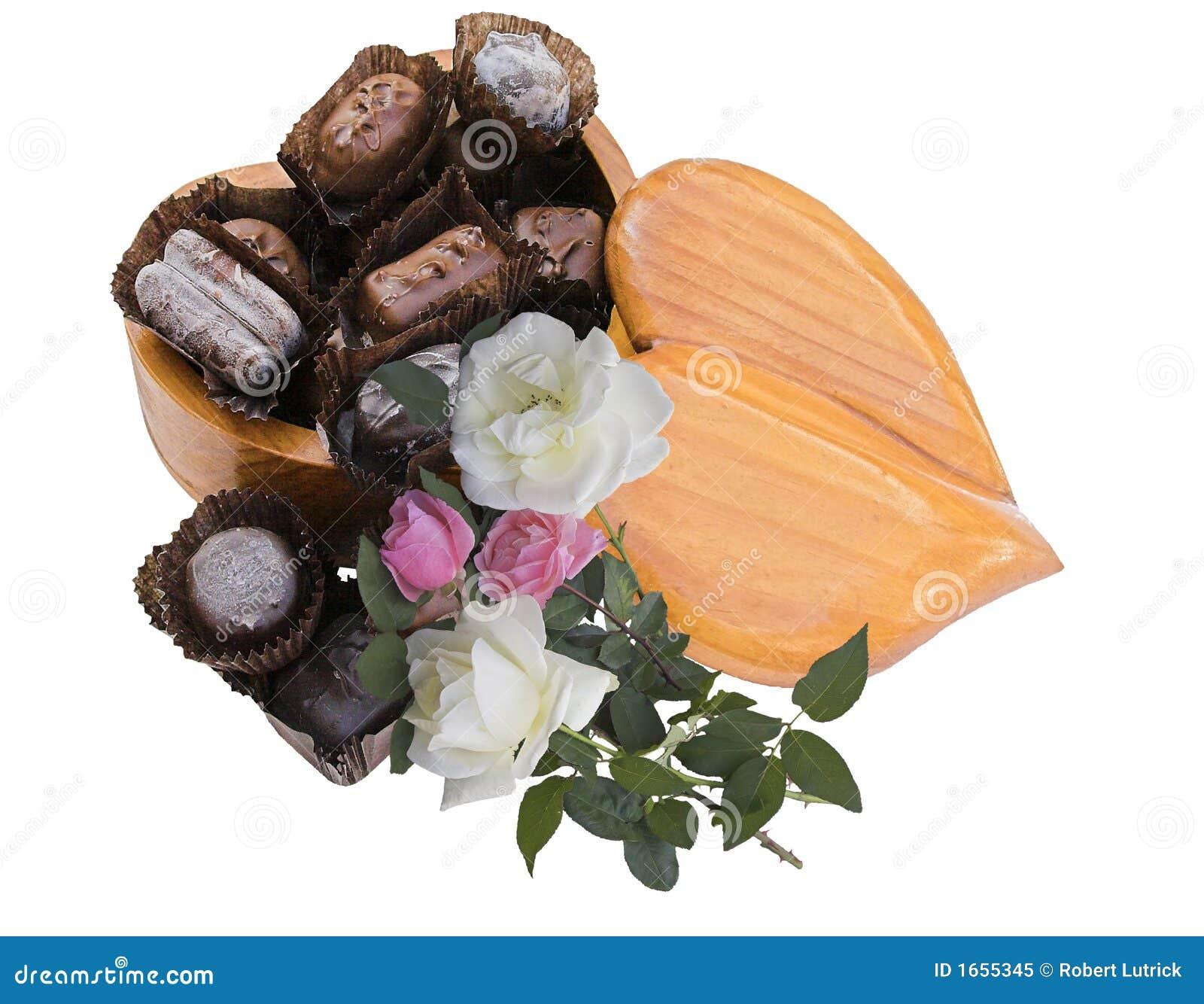 Candy serca róże