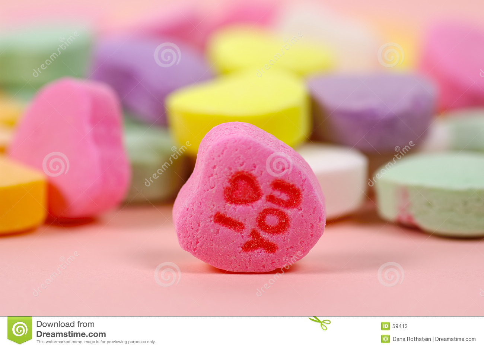 Candy serce