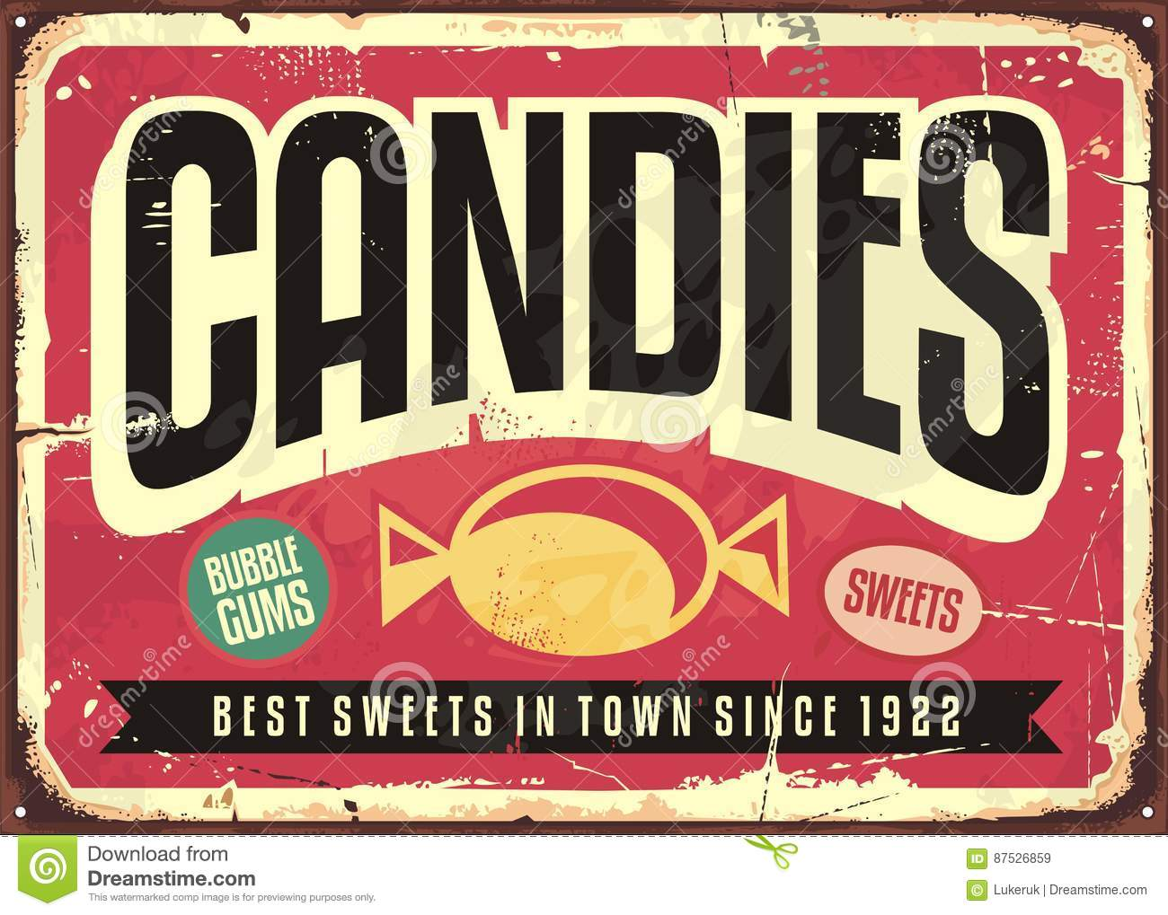 Old Fashioned Sweet Wrappers