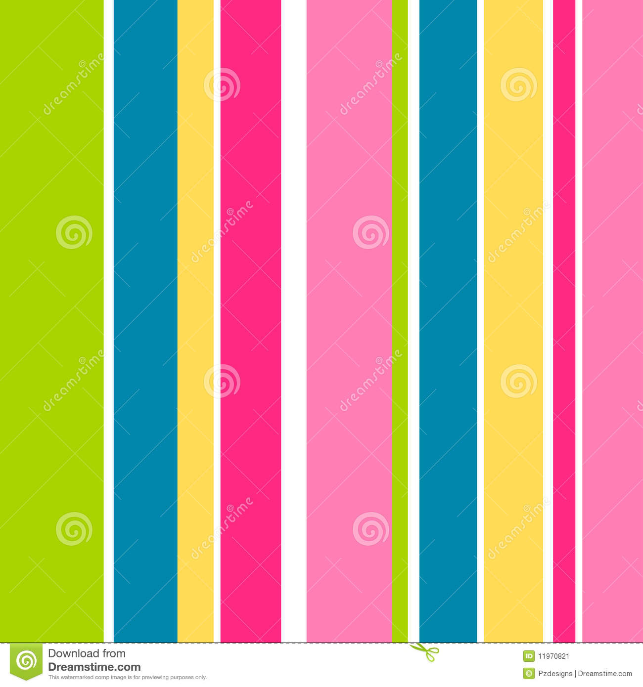 candy stripes stock vector image of multicoloured