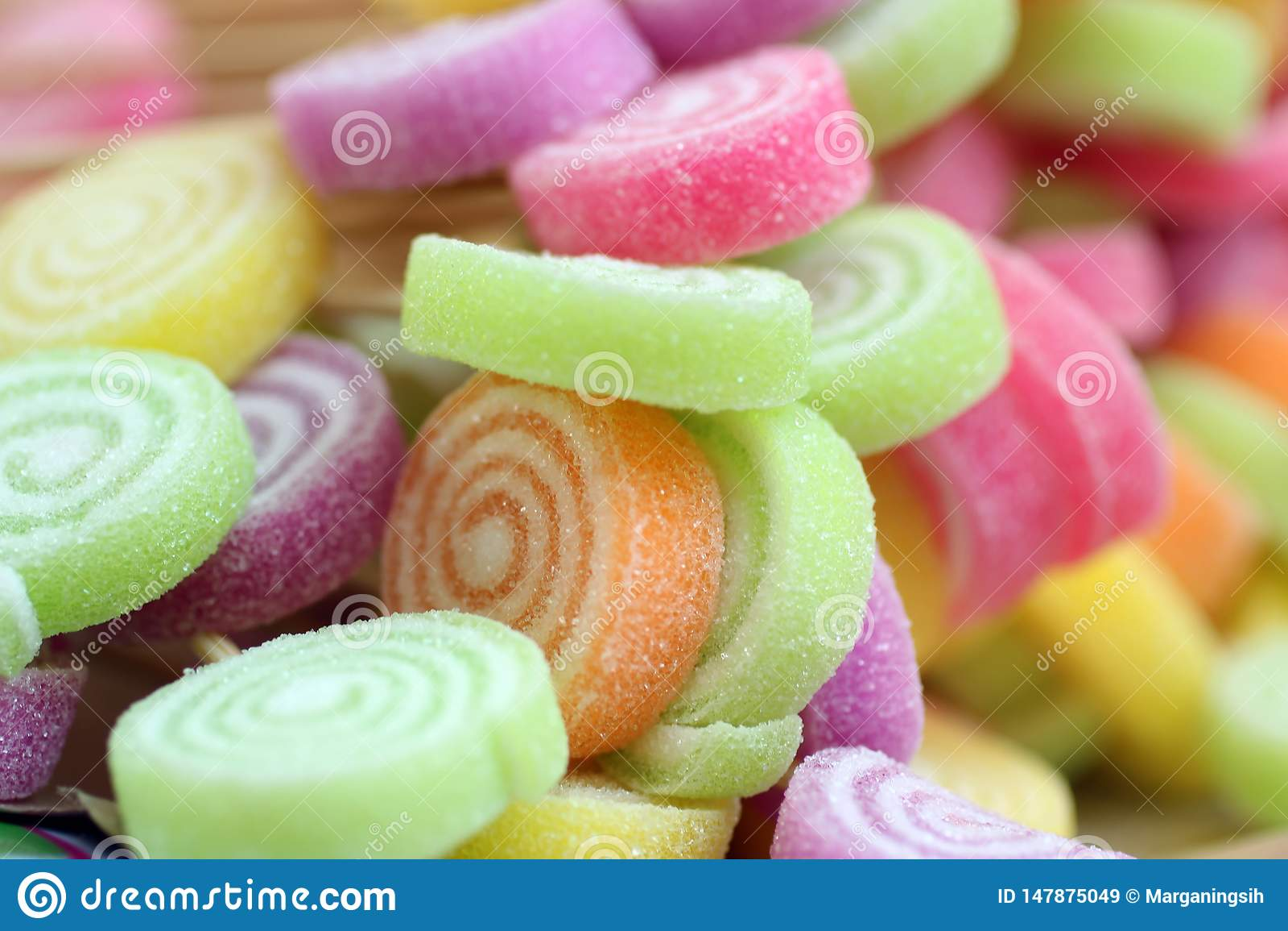 Candy t?a kolorowe